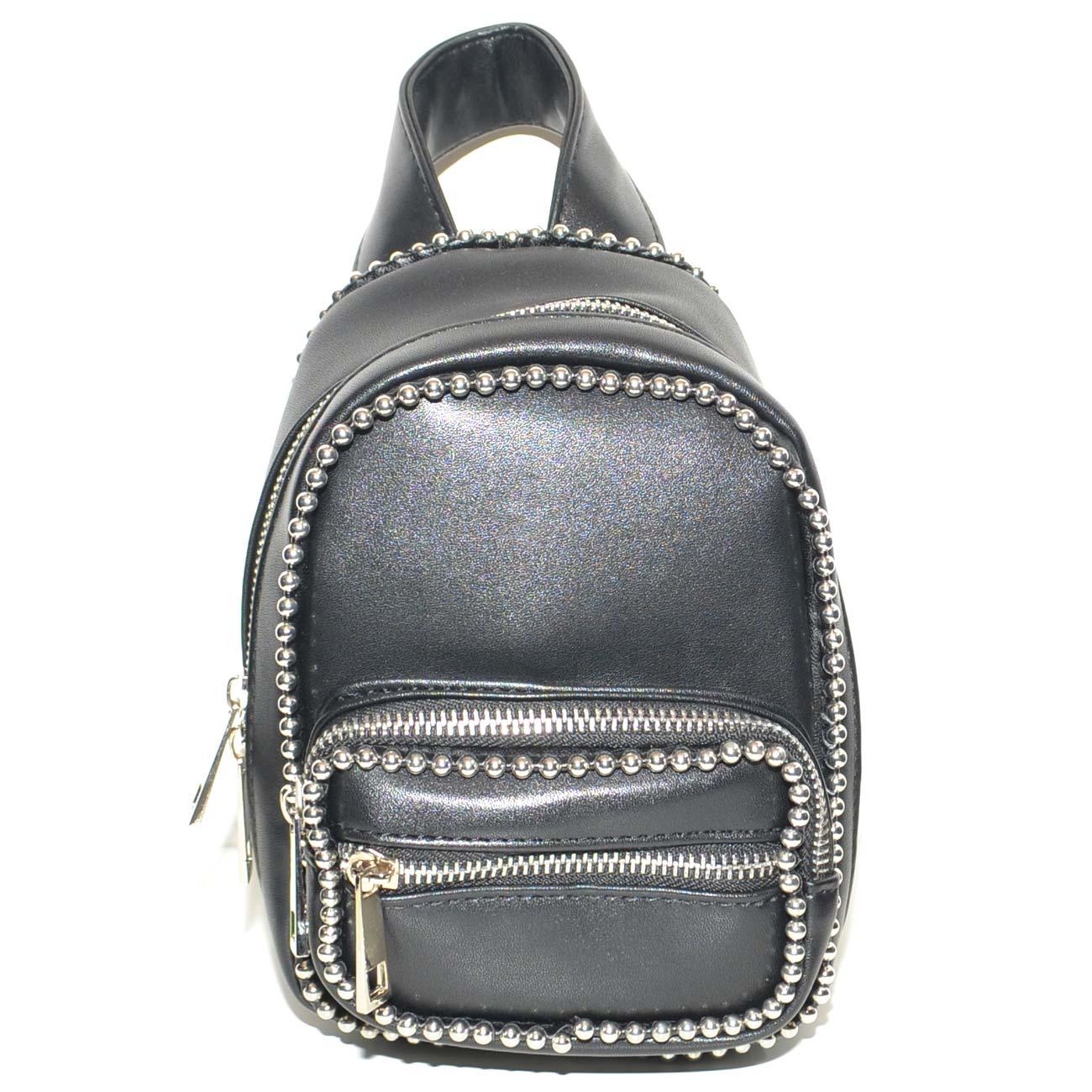 Clutch interne versie Bag vetersluiting Mini Dames ritssluiting met dubbele en rugzak 34LARj5