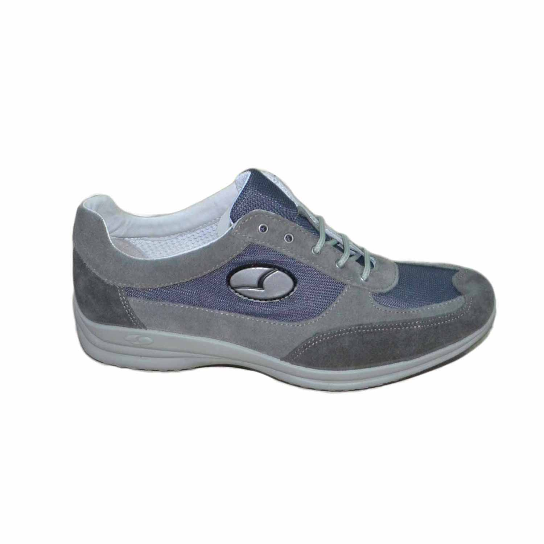 Scarpe Matrimonio Uomo Sportive : Sneakers sportive grigio scarpe uomo light step grisport