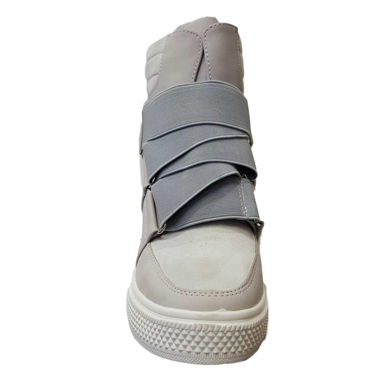 online retailer 739f0 a6f27 Sneakers alta donna art 4568 grigio rialzo interno strappo moda tendenza  comfort donna sneakers alta Malu Shoes | MaluShoes