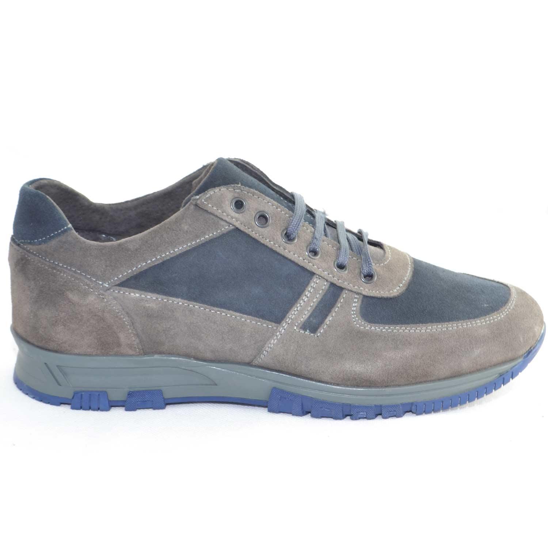 ... Malu Shoes Scarpe e Accessori. Scarpe uomo calzature comode linea  comfort made in italy vera pelle scamosciata bicolore 782b768de16