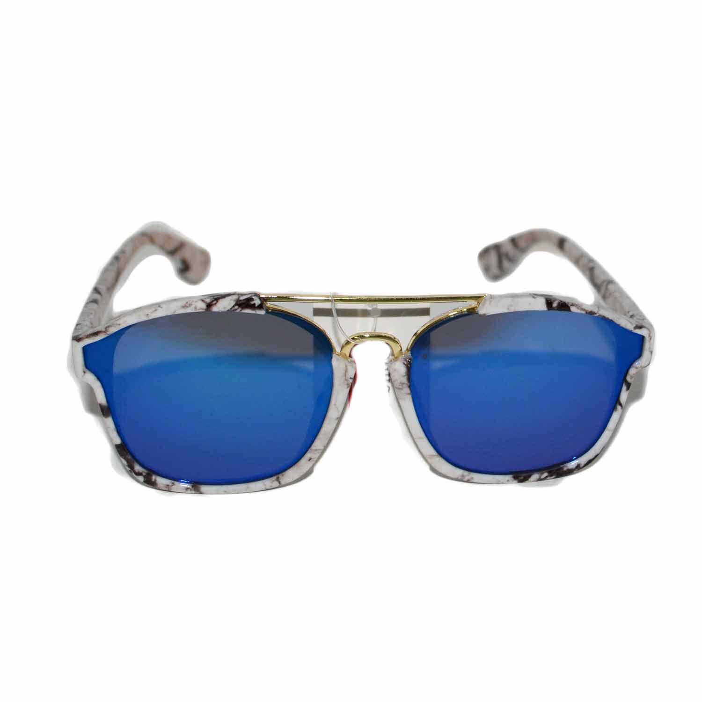 Occhiali da sole a specchio blu - Occhiali specchio blu ...