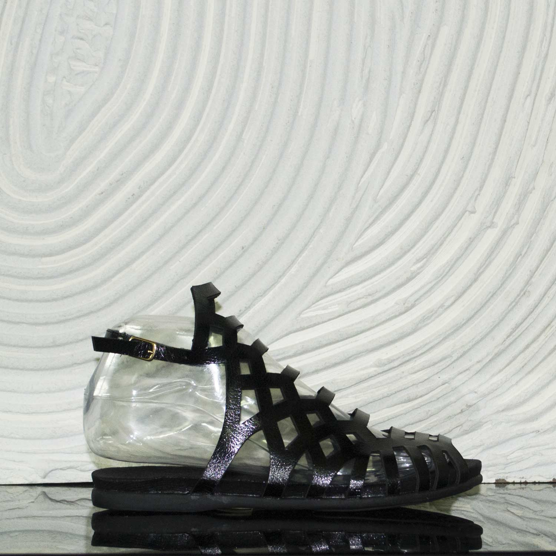 Sandali Nero Donna Hrdcbxotsq Fondo Scarpe Comfort Black Cinturino Bassi NX8ZnOPk0w