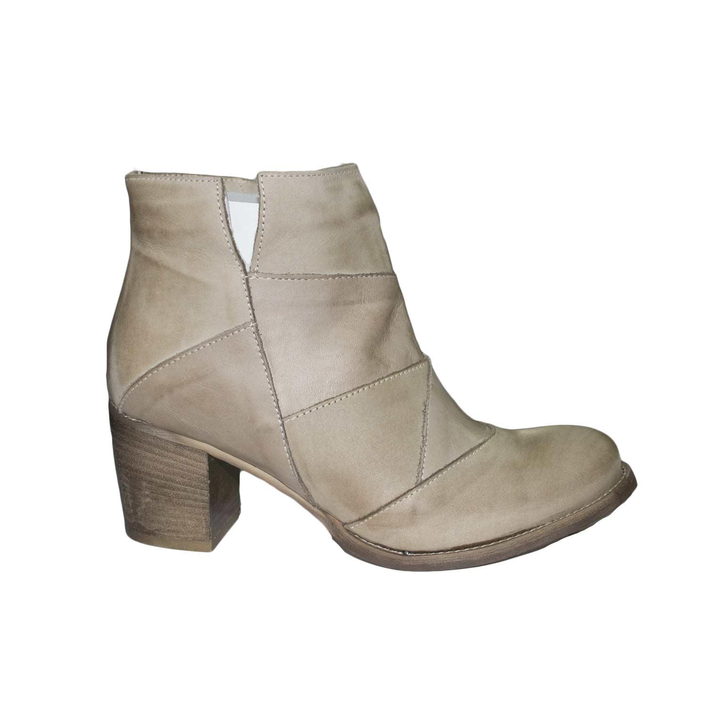 2020 come ottenere scegli l'autorizzazione Scarpe donna tronchetto cuoio con fibbia e zip laterale vera pelle genuine  leather tacco 70 comfort donna tronchetti Malu Shoes | MaluShoes