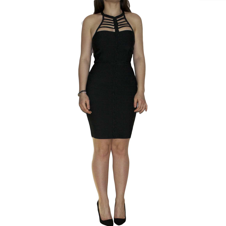 more photos 3cc70 2b68c Abito tubino donna bandage aderente e modellante loungette color cipolla  trendy moda francese donna abiti MANOSQUE | MaluShoes