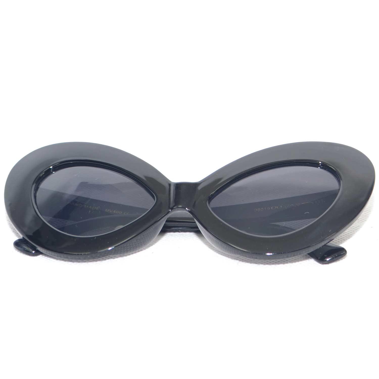 d922080334 Sunglasses occhiali neri da sole donna grandi modello ferragni anni ...