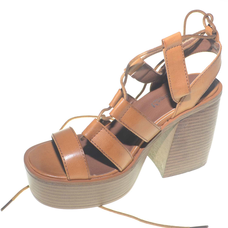 5767050c26 Sandalo donna alla schiava con fondo platform separato e plateau comodo  trendy estate donna platform Malu Shoes   MaluShoes
