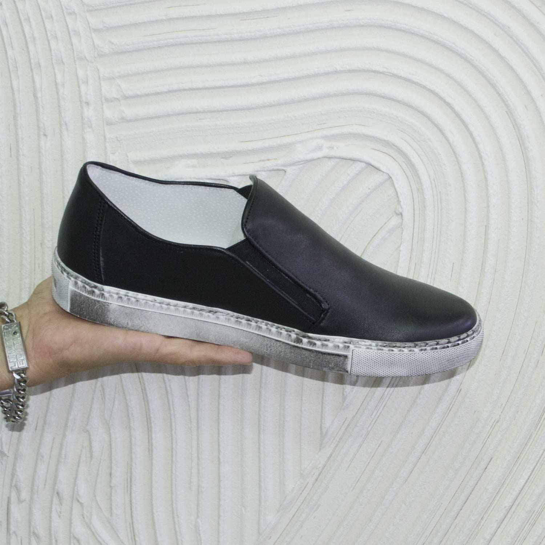 scarpe slip on uomo