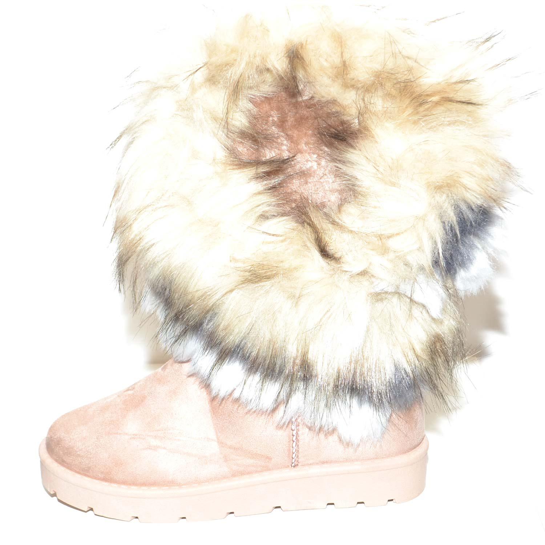 STIVALETTI IMBOTTITI DOPO sci caldi stivali con pelliccia