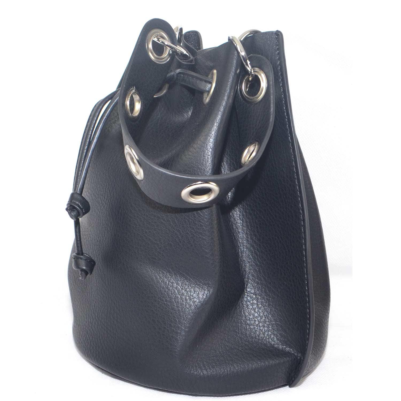 4255f4b19e642 Borsa piccola a mano forma sacchetto con tracolla a polso e toracica moda  glamour