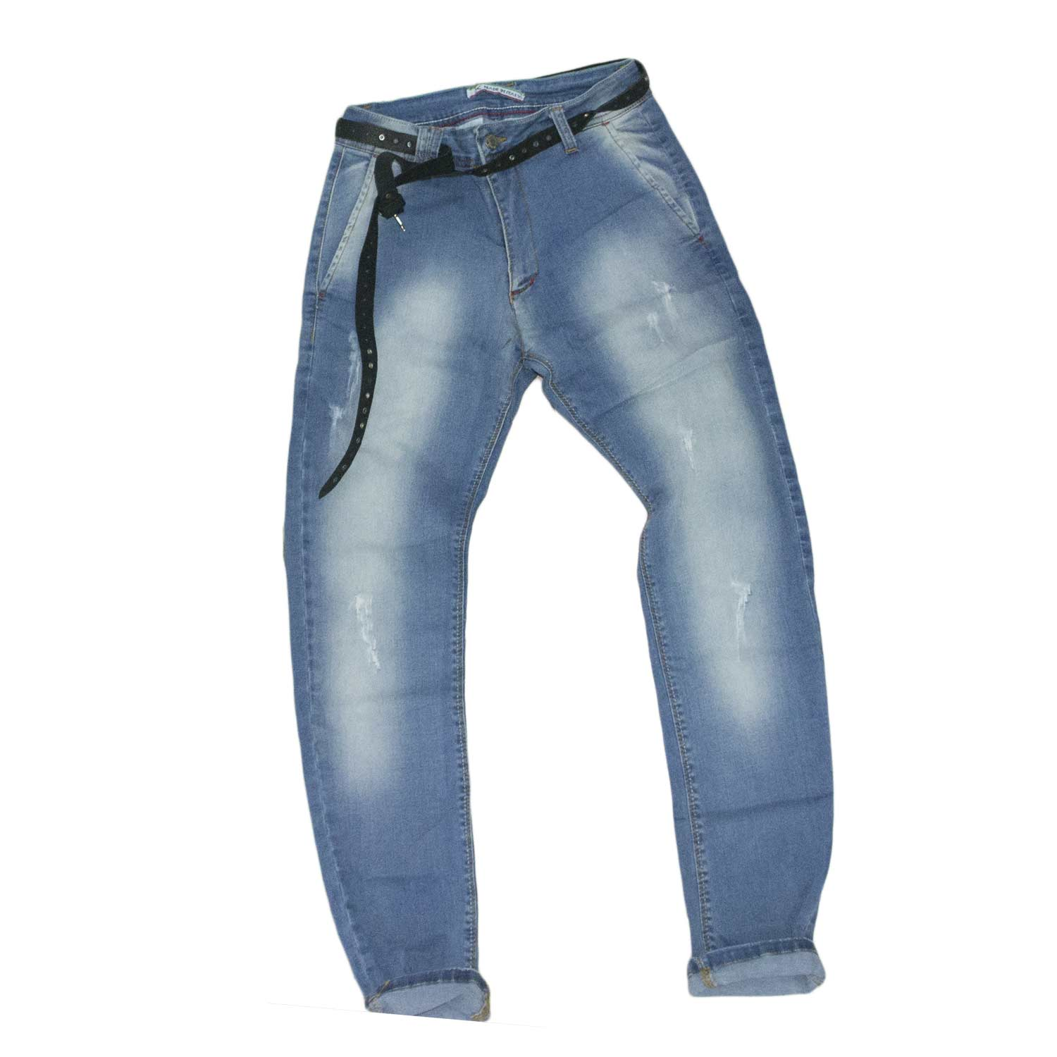 jeans uomo man blu cintura nero moda made in italy.
